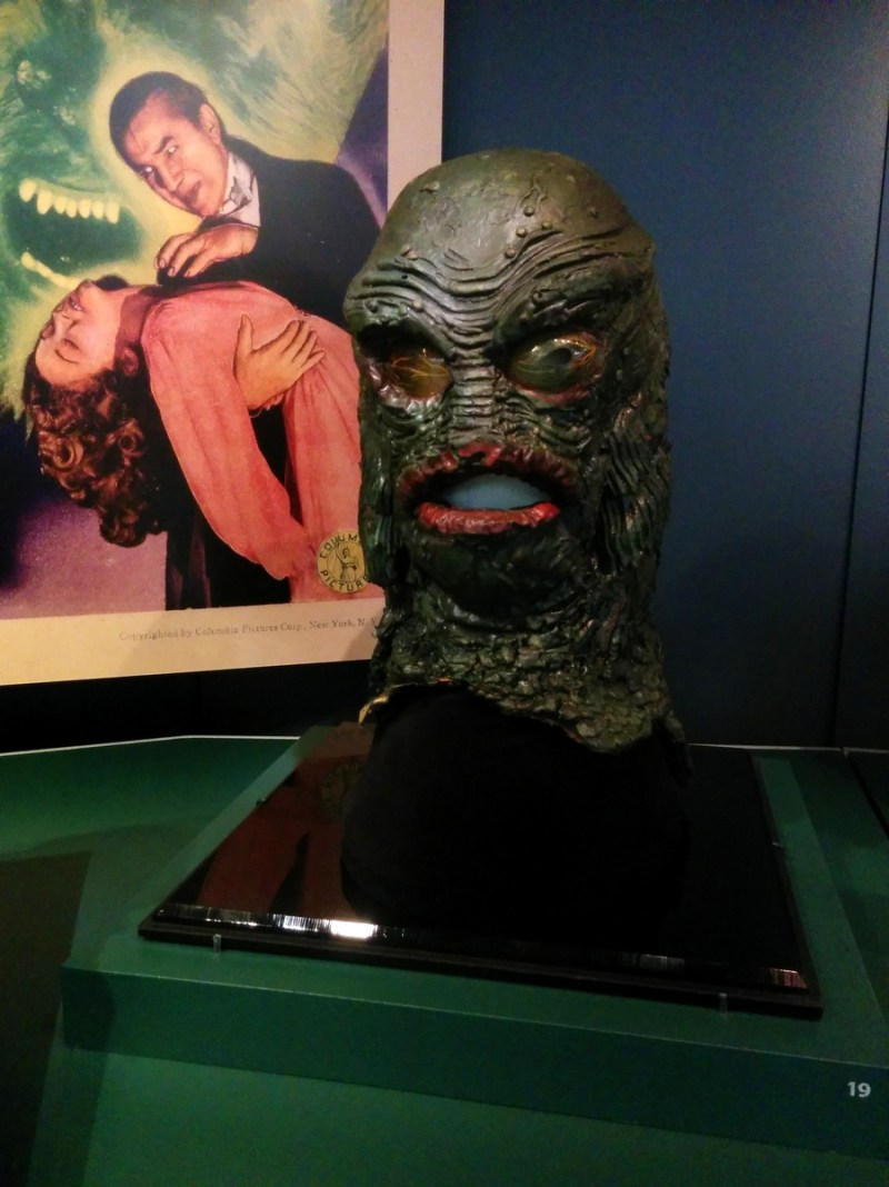 Revenge of the Creature, prop head, 1955, by Bud Westmore and Millicent Patrick