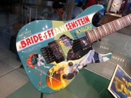 the Bride of Frankenstein guitar