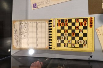 Chess for the Wounded Postal Chess Recorder
