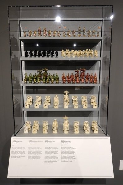 chess sets displays