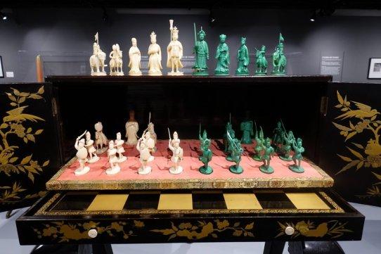 chess board cabinet