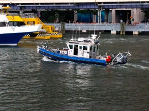NYPD have pretty fancy boats