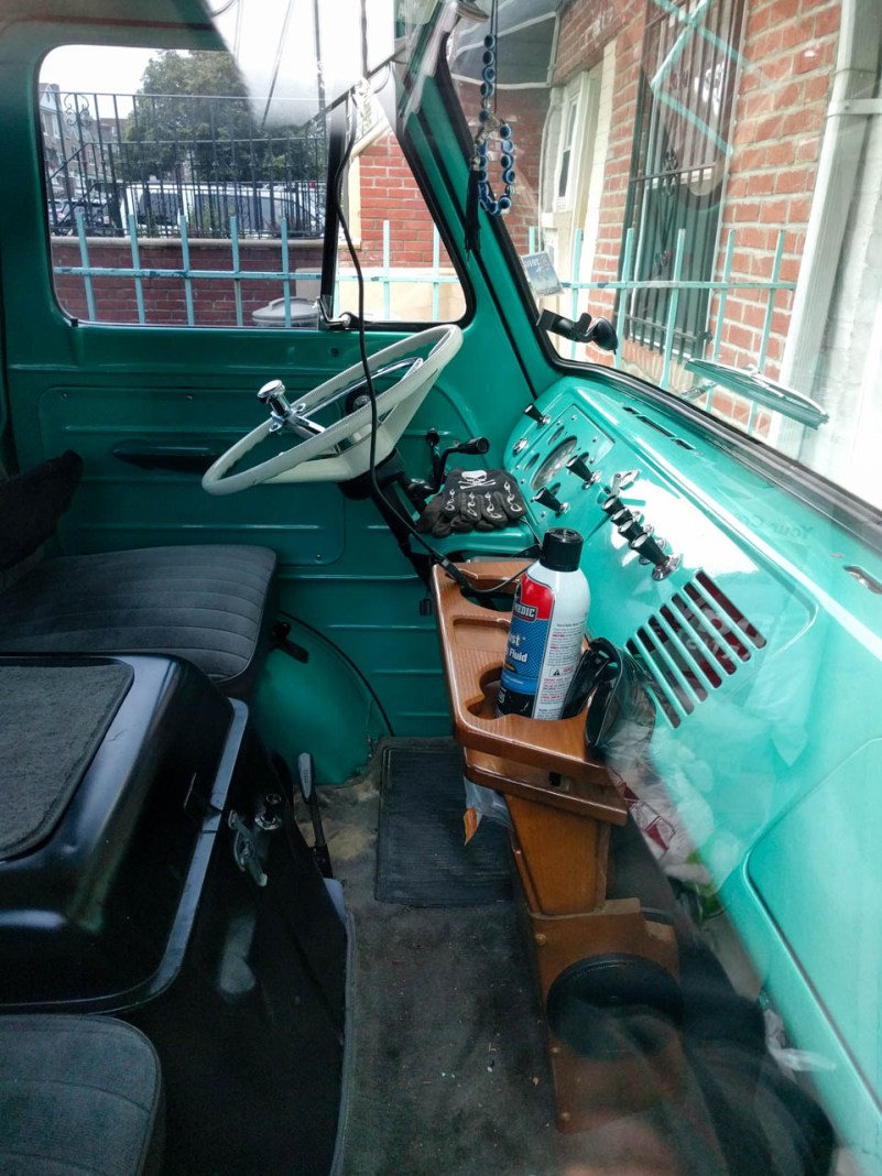 old Ford interior
