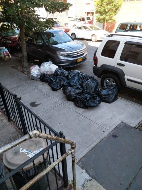 my neighbors make so.much.trash!