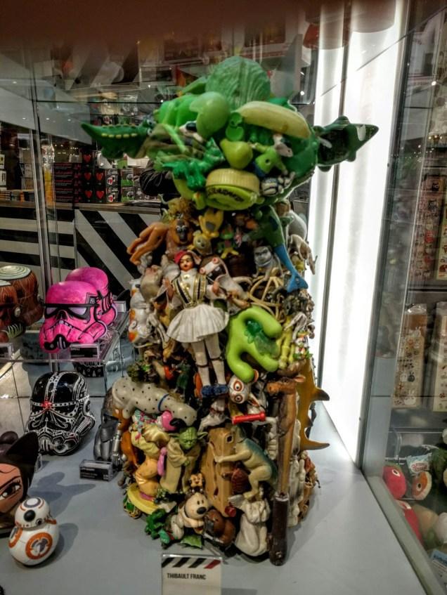 plastic Yoda