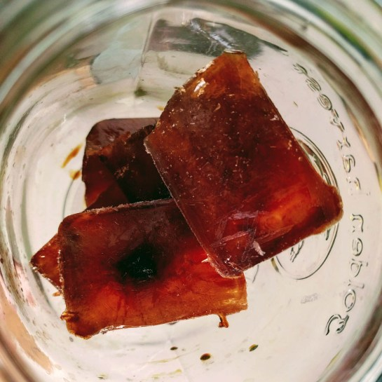 coffee ice cubes ftw!