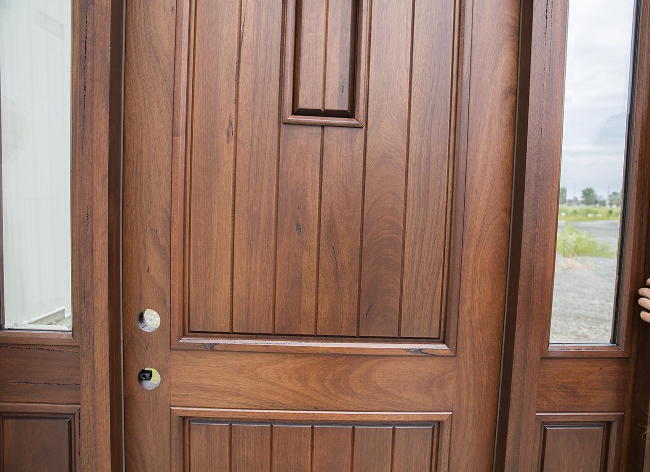 Rustic Teak Exterior Front Doors