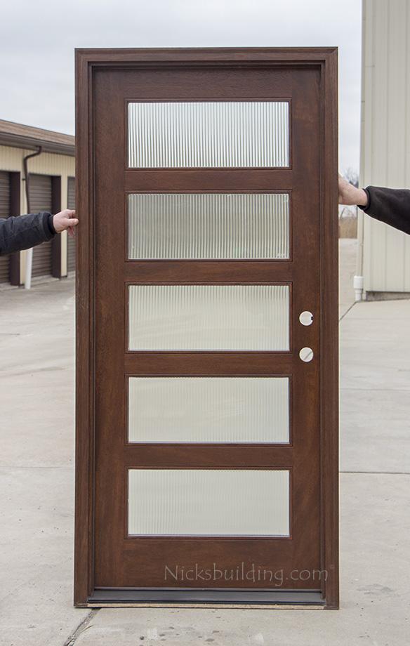 Modern Single Entry Doors CL 2121A