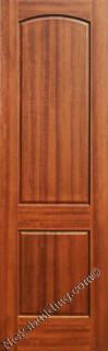 Two Panel Interior Mahogany Doors