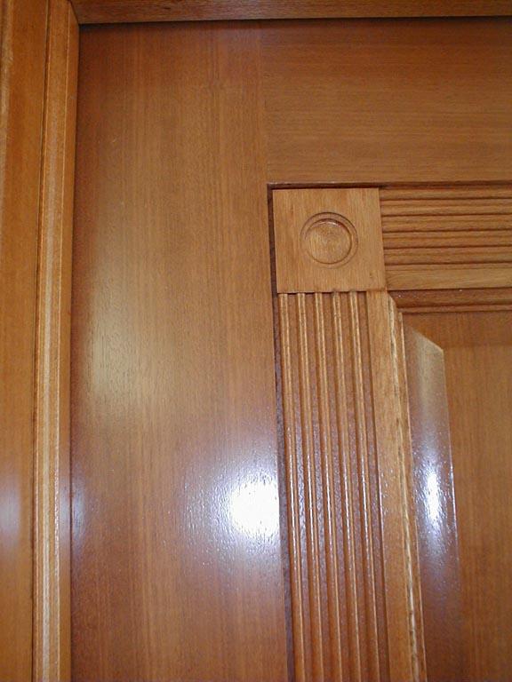 1 Panel Mahogany Interior Doors