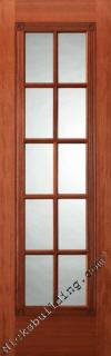 Fancy French Doors - Mahogany French Interior Doors