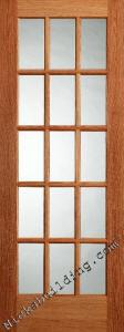 Interior Oak French Doors, 15 lite Oak French Doors