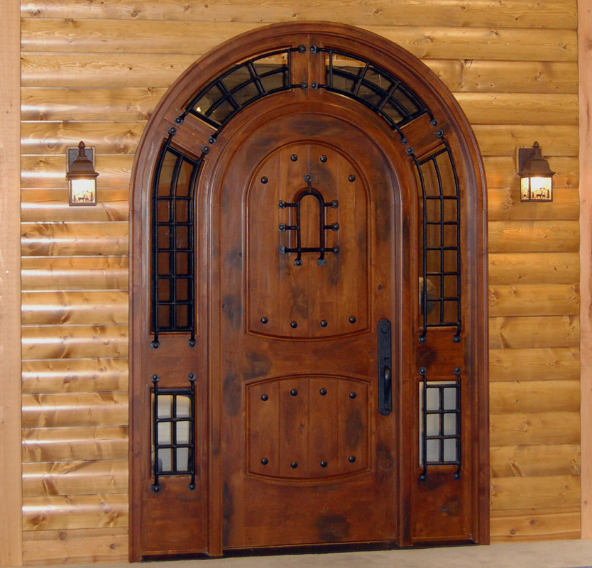 Rustic Arched Door Pompano