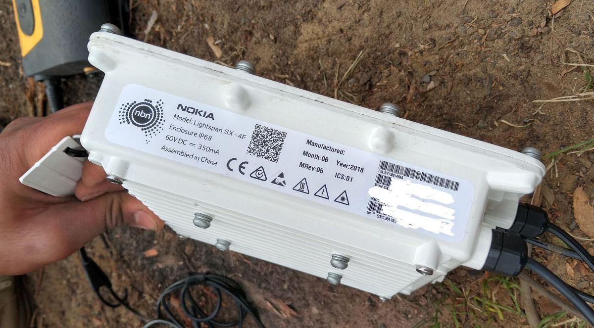 Nokia Lightspan SX-4F used for NBNco FTTC as DPU