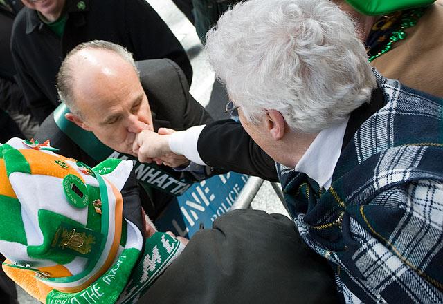 St. Patricks Day Parade, Rudy Giuliani