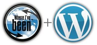 Where I've Been + WordPress