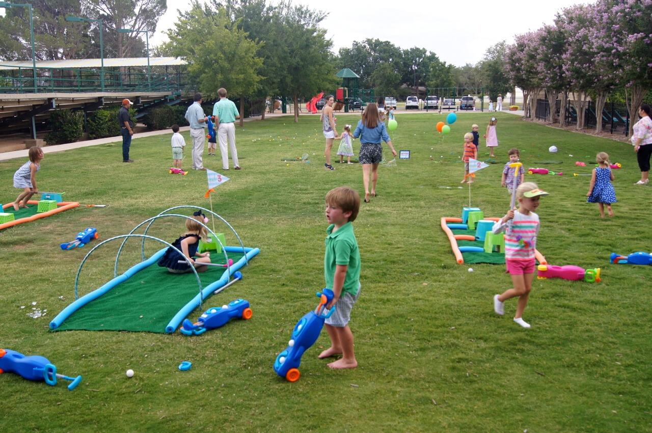 Golf Themed Birthday Nico Amp Lala