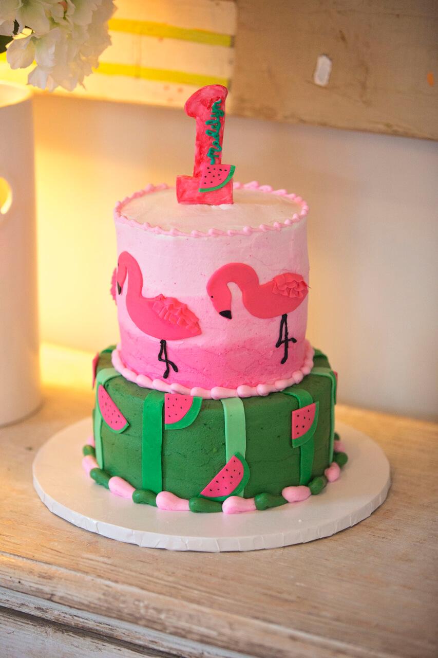 Flamingo Watermelon Birthday ⋆ Nico And Lala