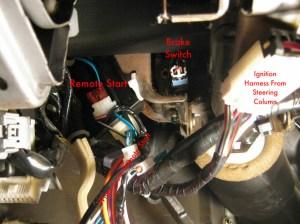 2008 Nissan altima remote start wiring