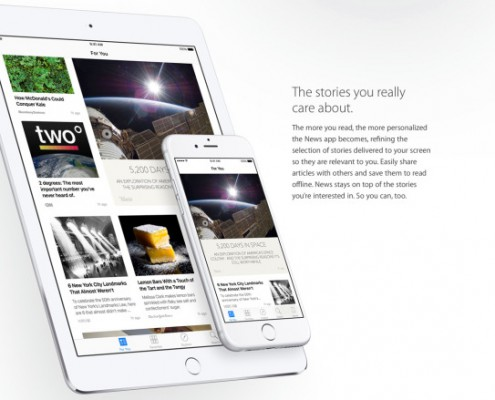 iOS 9 News (copyright apple.com)