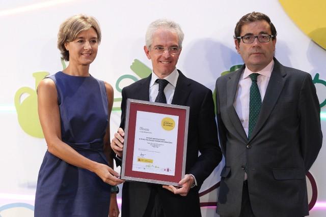 Nico Jamones recibe el Premio Alimentos de España al Mejor Jamón 2016