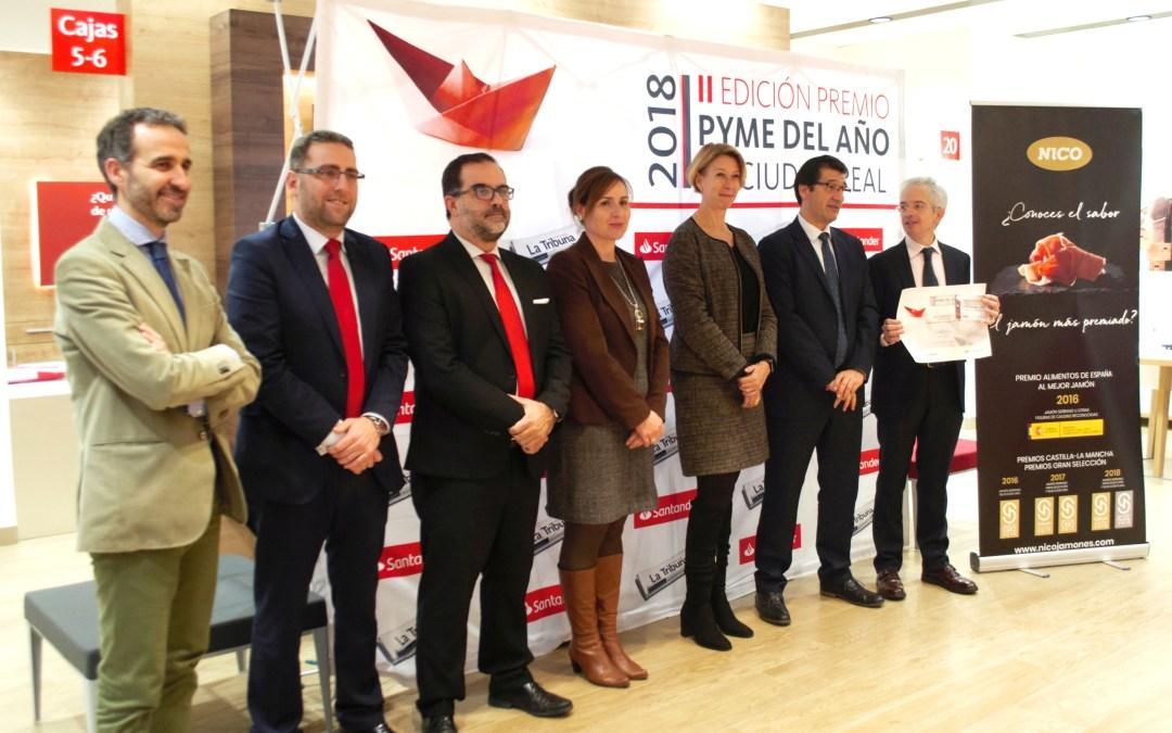 Nico Jamones obtiene el 'Premio Pyme del Año de Ciudad Real'