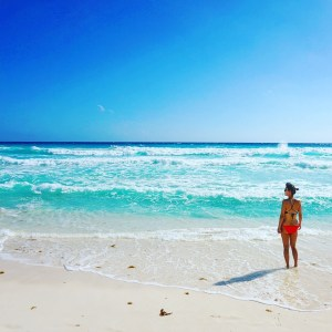 Things to do in Cancun - go to the beach