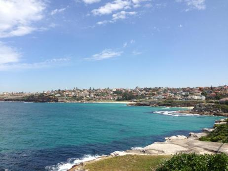 Views on the Bondi to Coogee walk, Australia