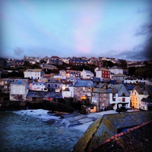 Beautiful views of Port Isaac from White House Cottage. This is one of my favourites in my blog on unique places to stay in the UK