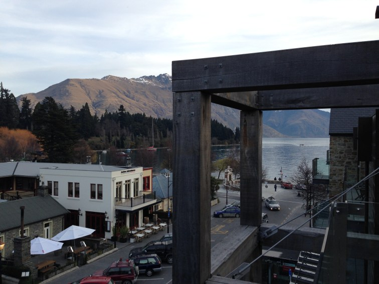 View from our room In Nomads, Queenstown