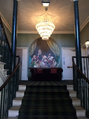 The staircase at Hotel du Vin, Poole