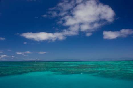 Views of the Great Barrier Reef