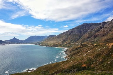 Views along the scenic route to Boulders Beach