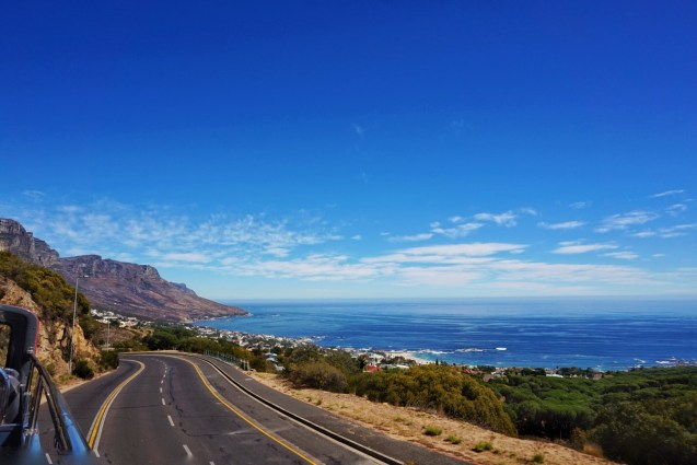On the road near Camps Bay