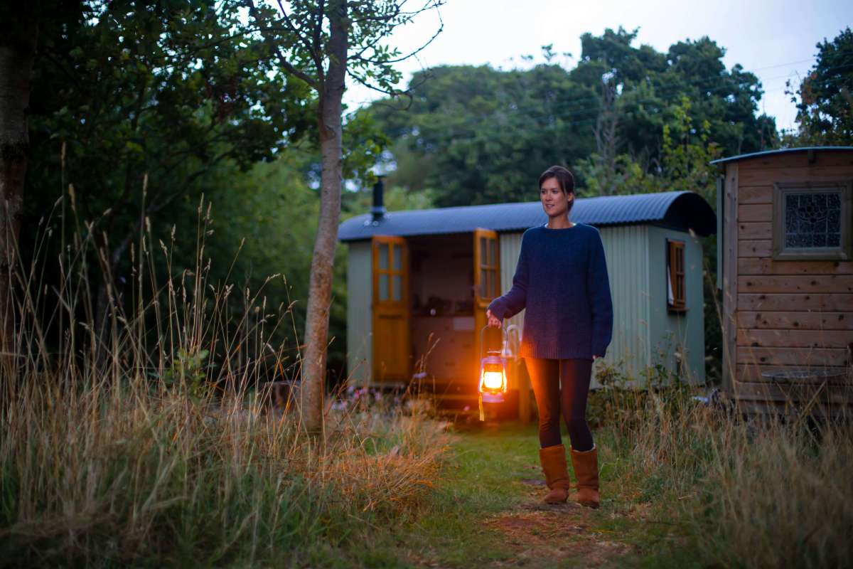 Glamping at Warmwell House in Dorset