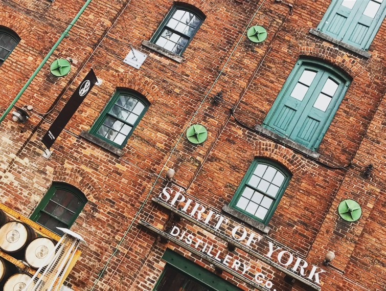 Toronto Distillery District.