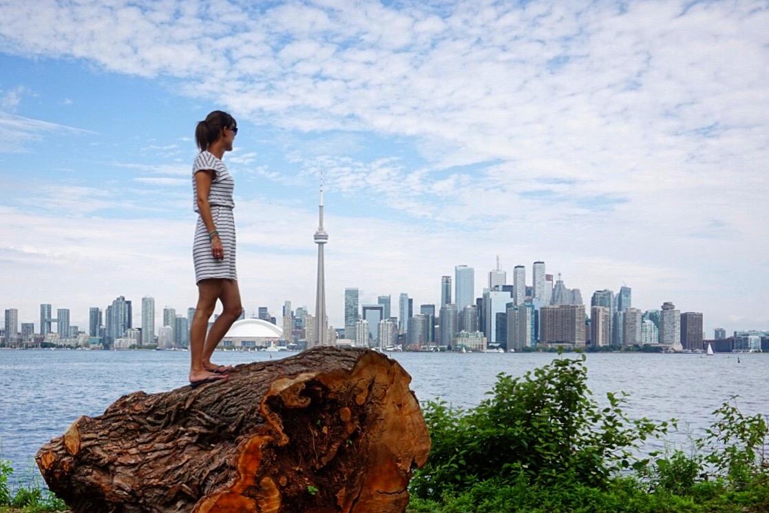 View of Toronto from Toronto Island.