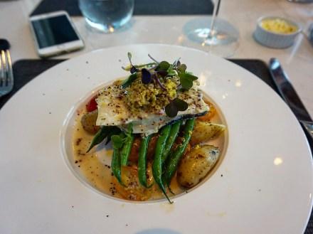 Dinner at the 360 Restaurant, CN Tower, Toronto.