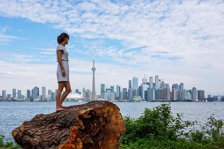 Toronto views from Toronto Island.