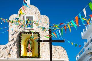 Church on Isla Mujeres, Mexico