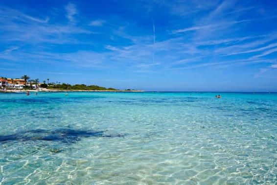 Mediterranean Ocean views, Punta Prima, Menorca