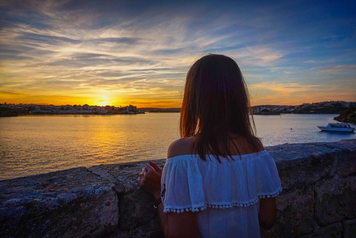 Sunset from Lazareto, Menorca