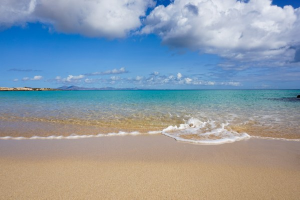 Blue waters, Playa Alzada, Corralejo