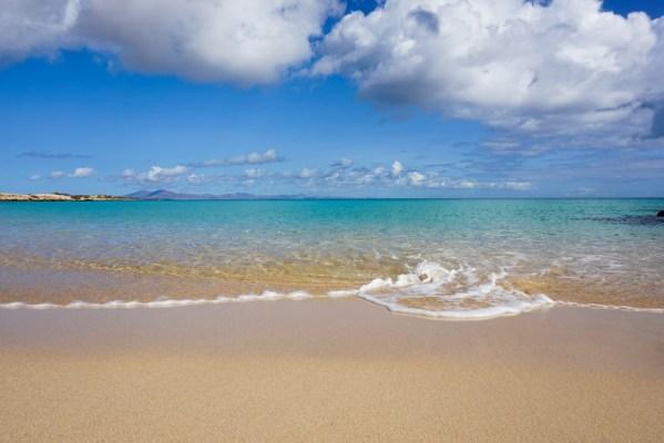 Blue waters, Playa Alzada, Corralejo