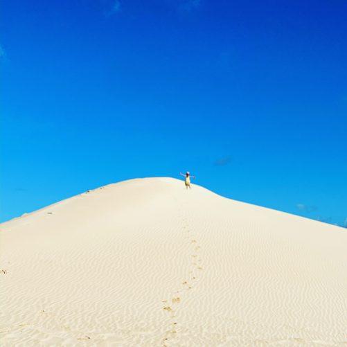 Sand dunes, Corralejo, Fuerteventura