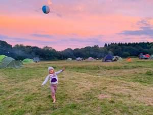 Manor campsite in Dorset