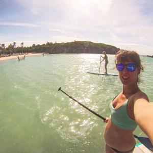Paddleboarding in Bermuda