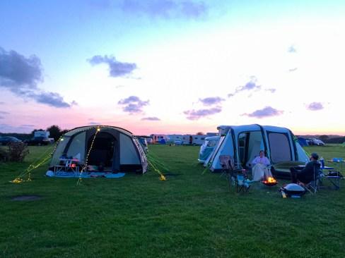 Hurst View Campsite in Lymington