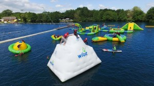 Camp in the New Forest at the New Forest Water Park