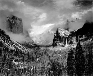 "Ansel Adams, ""Clearing Winter Storm"", Yosemite National Park, California (c.1937)"